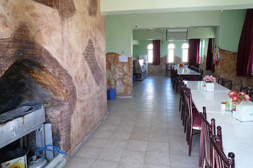 ギュネシ・ホテル食堂