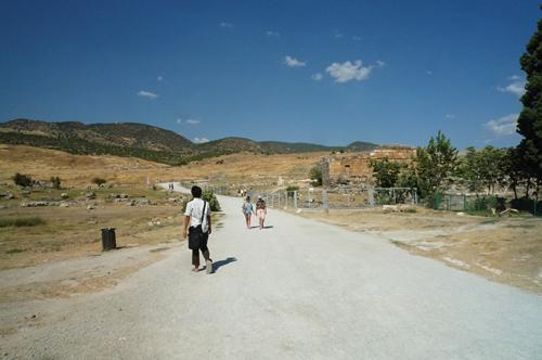 アポロ神殿跡へ