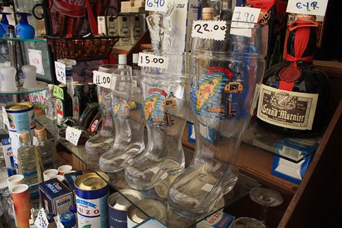 足型ビールグラス