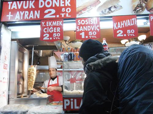 ドネル・ケバブ(Doner Kebabi)