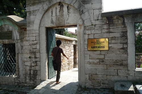 カーリエ博物館入口