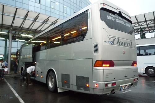 ソフィアツェントラルナ・アフトガーラ(中央バスターミナル)