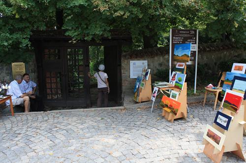 ボヤナ教会入口