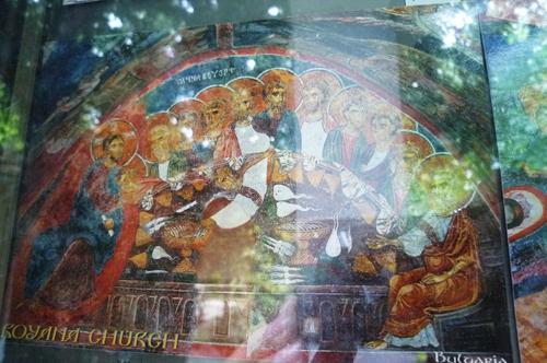ボヤナ教会絵葉書