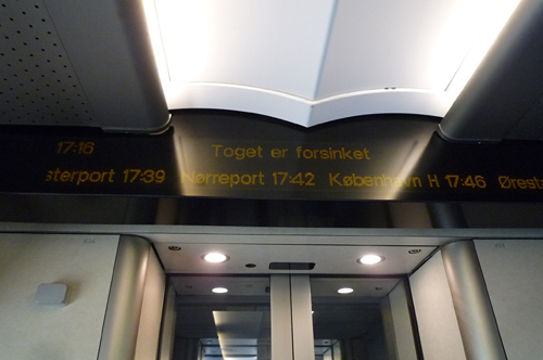 ヘルシンオア行き列車