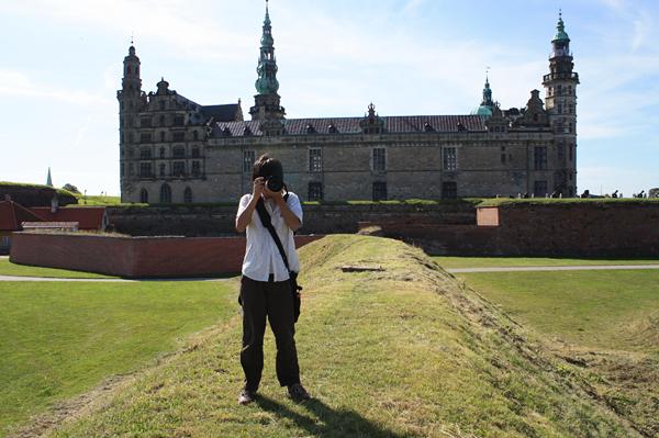 クロンボー城と2号