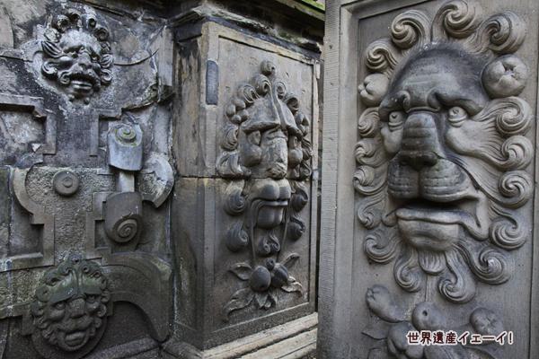 クロンボー城内の装飾