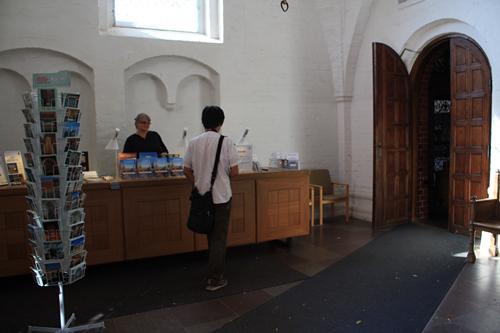 ロスキレ大聖堂入口