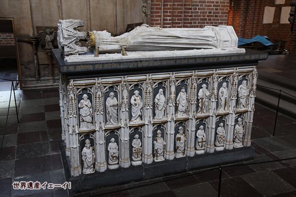 女王マルグレーテ1世の棺