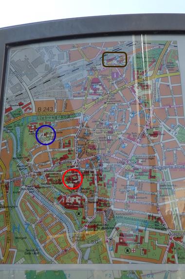 ヒルデスハイム地図