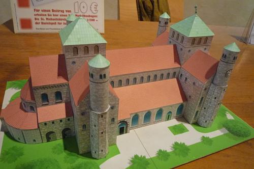聖ミカエル(ミヒャエリス)教会模型