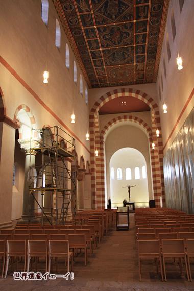 聖ミカエル(ミヒャエリス)教会内部