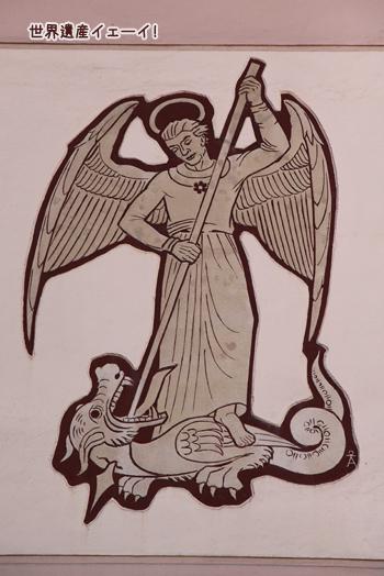 聖ミカエル壁画