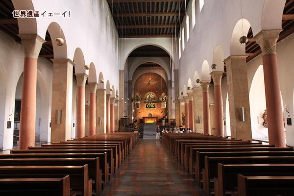 聖マリア大聖堂内部