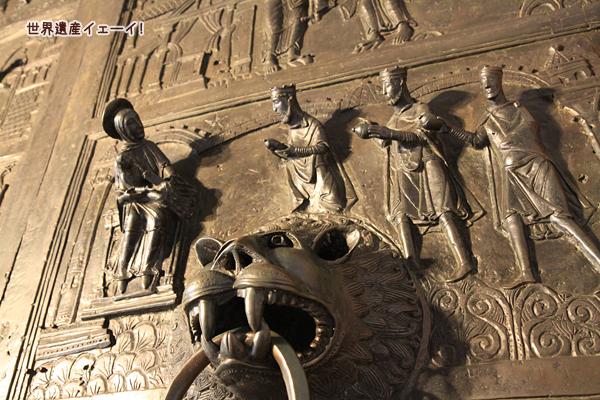 聖マリア大聖堂青銅扉