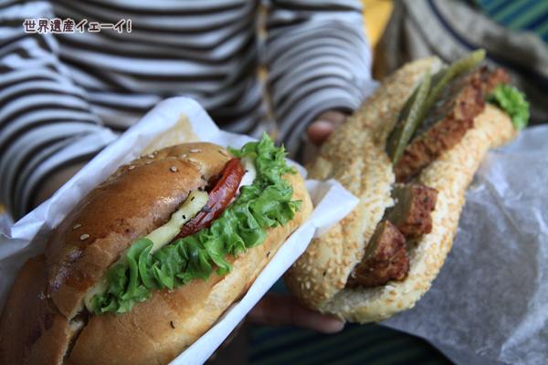ヒルデスハイムで昼食