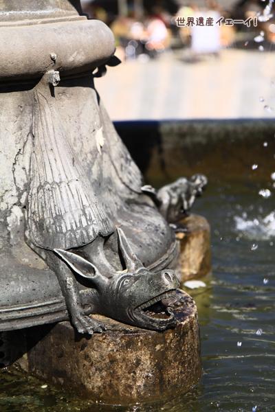 マルクト広場噴水
