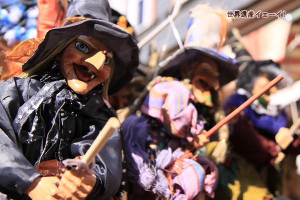 魔女の人形
