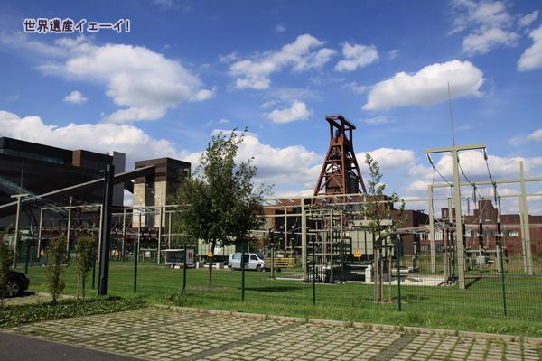 ツォルフェライン炭坑業遺産群外周