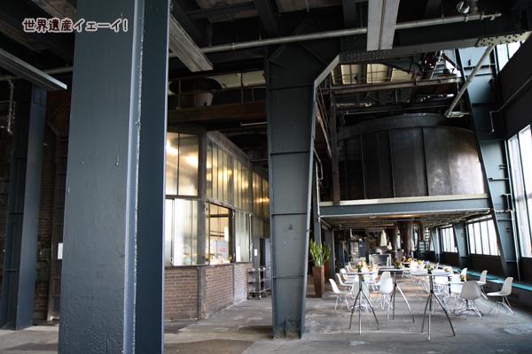 ツォルフェライン炭坑業遺産群カフェ