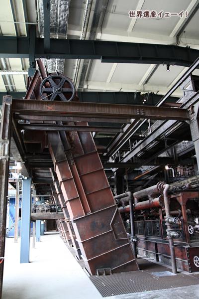 ツォルフェライン炭坑業遺産群内部