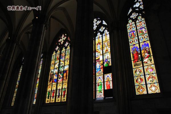 ケルン大聖堂ステンドグラス(バイエルン窓)
