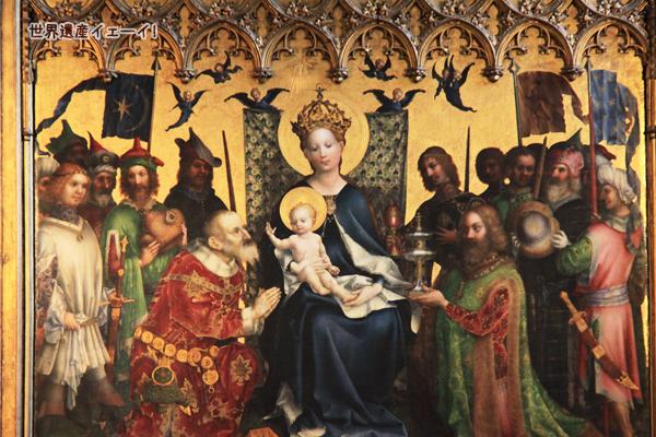 市の守護聖人たちの祭壇画