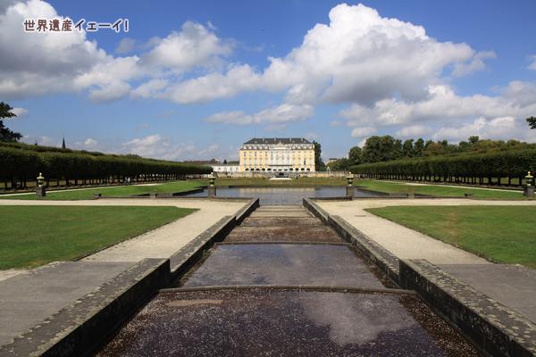 バロック式庭園&アウグストゥスブルク城