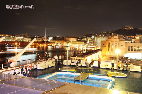 ナポリのベヴェレッロ港