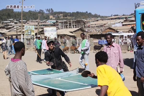 エチオピア・卓球