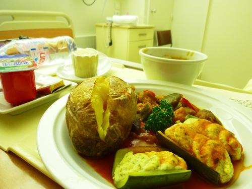 パリ入院時の食事