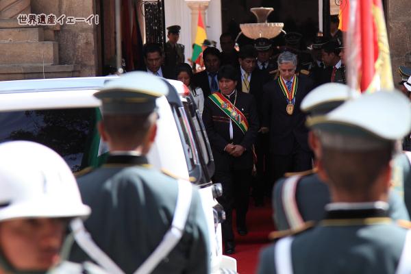 エボ・モラレス大統領