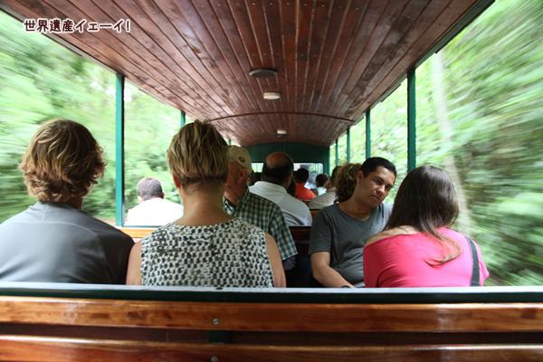 イグアスの滝-鉄道