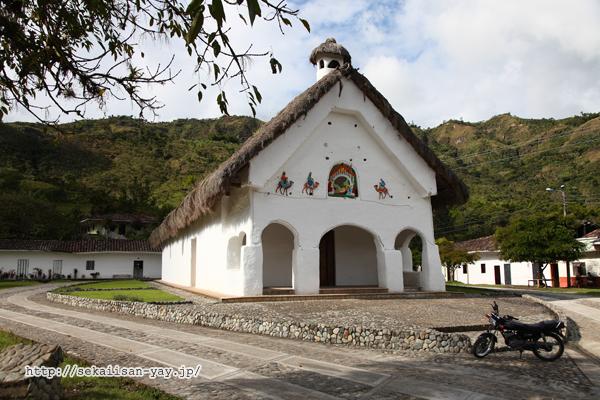 サンアンドレス・デ・ピシンバラ村(San Andrés de Pisimbalá)