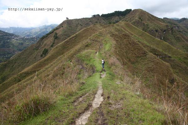 アルト・デル・アグアカテ(Alto del Aguacate)への道