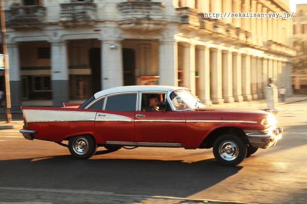 オールド・ハバナのクラシックカー