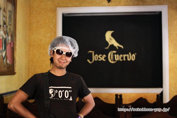ホセ・クエルボ(jose cuervo )工場見学ツアー